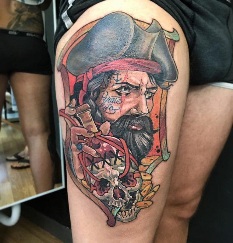 Pirate Tattoo 76