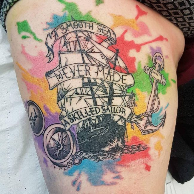 Pirate Tattoo_