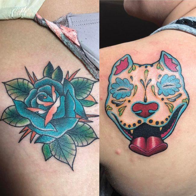 Pitbull Tattoo 52