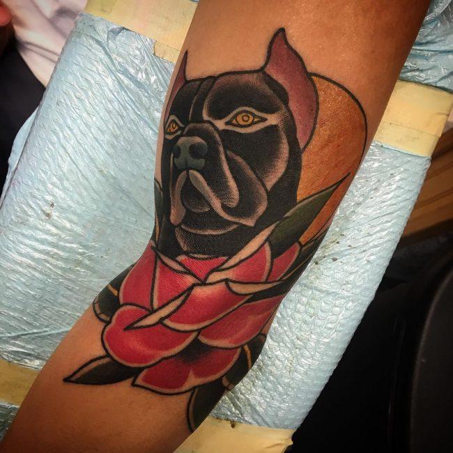 Pitbull Tattoo 53