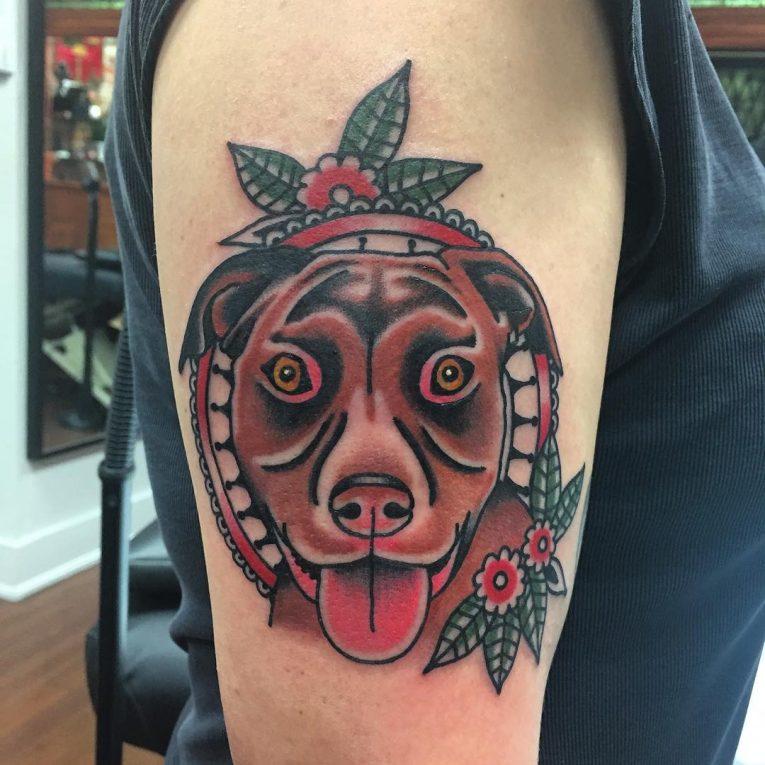 Pitbull Tattoo 61