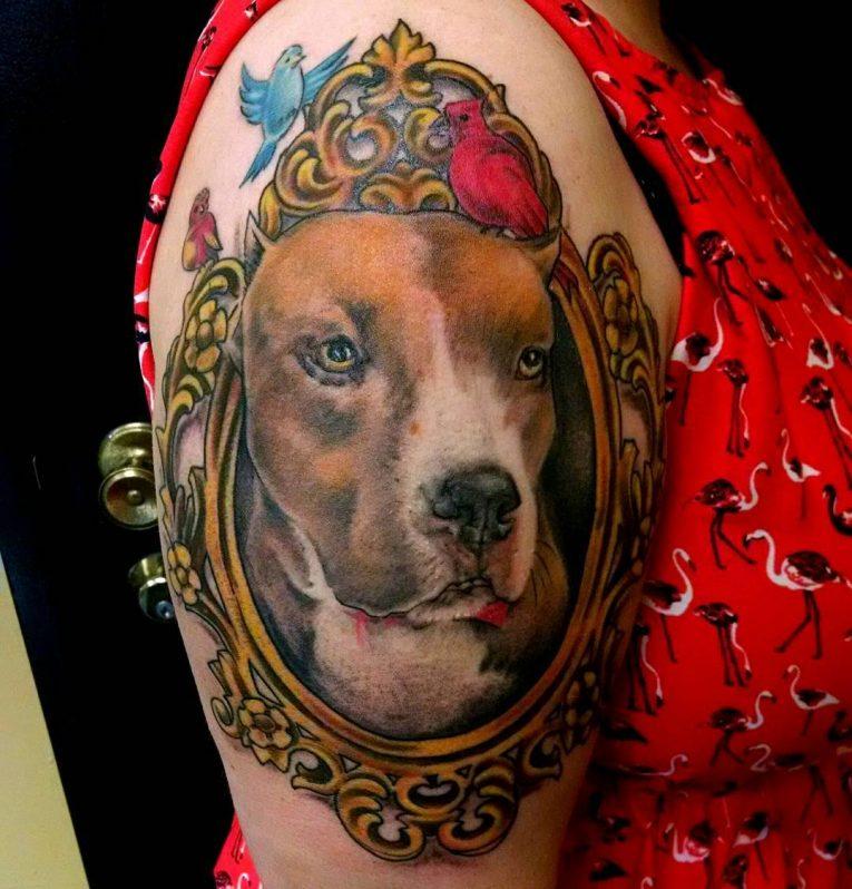 Pitbull Tattoo 62