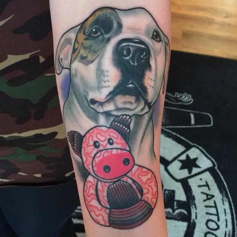 Pitbull Tattoo 65