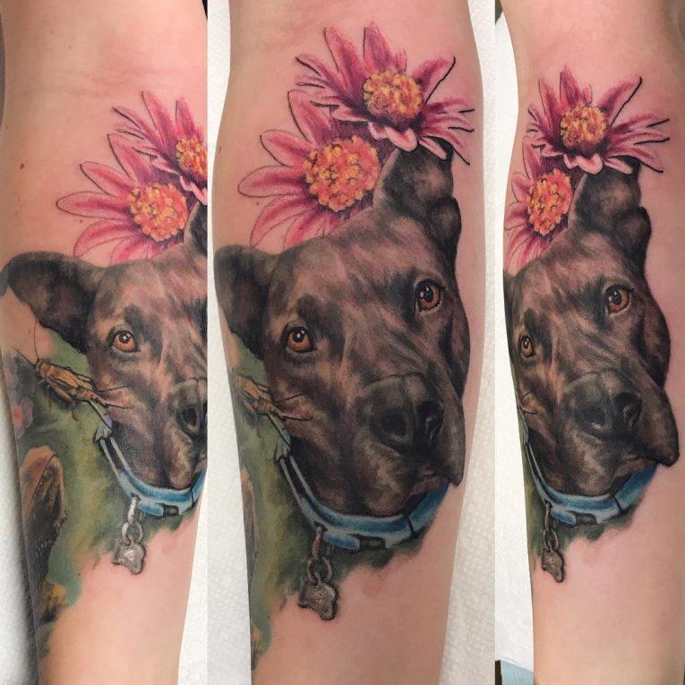 Pitbull Tattoo 66