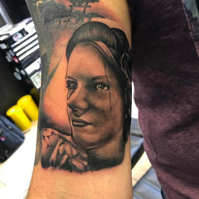 Portrait Tattoo 56