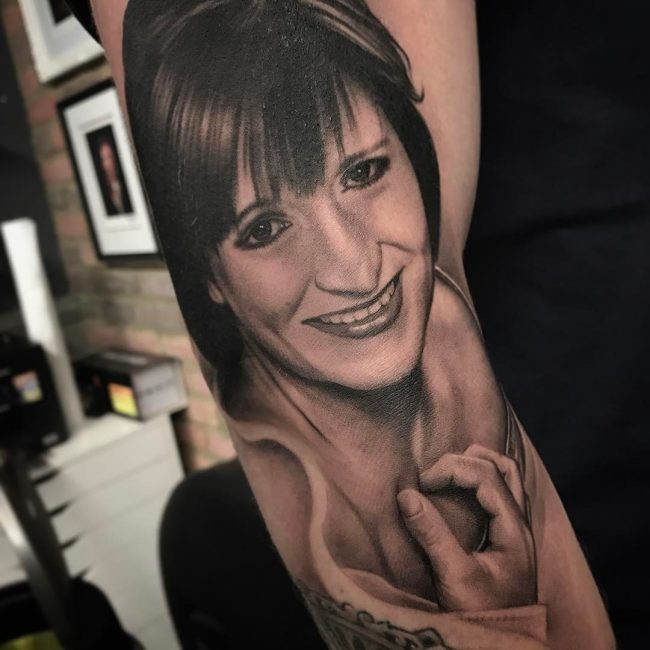 Portrait Tattoo 58