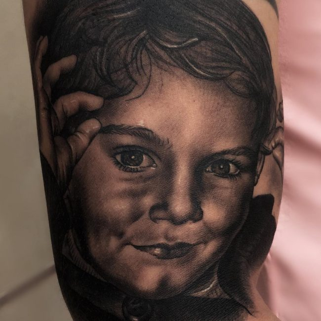 Portrait Tattoo 60