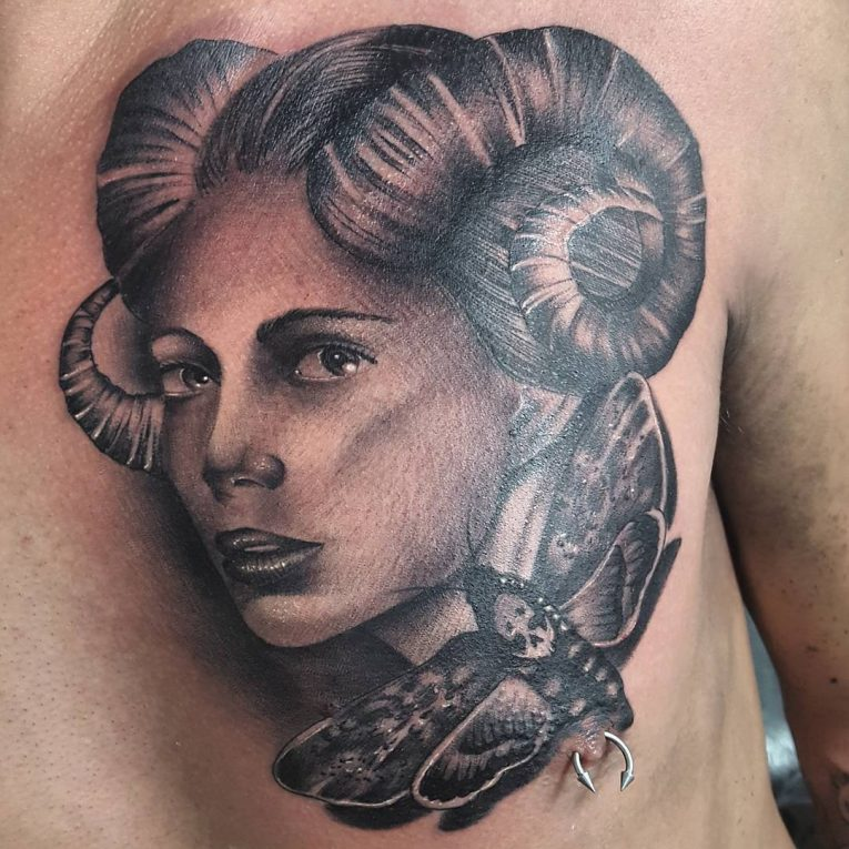 Portrait Tattoo 65