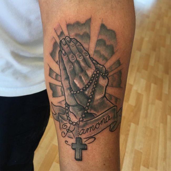 Praying Hands Tattoo 51