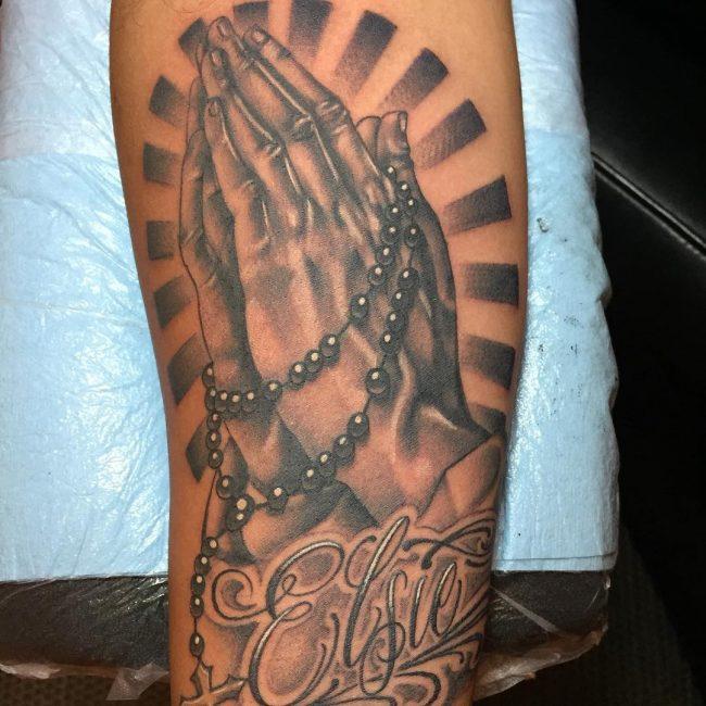 Praying Hands Tattoo 52