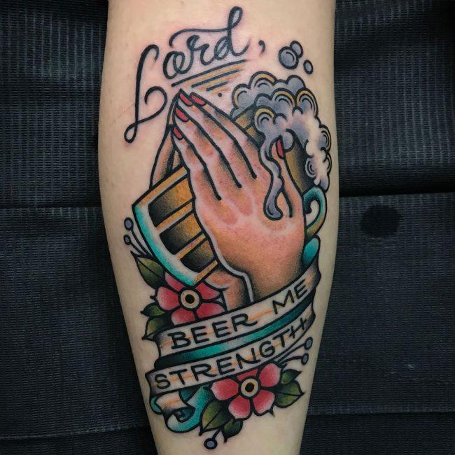 Praying Hands Tattoo 53