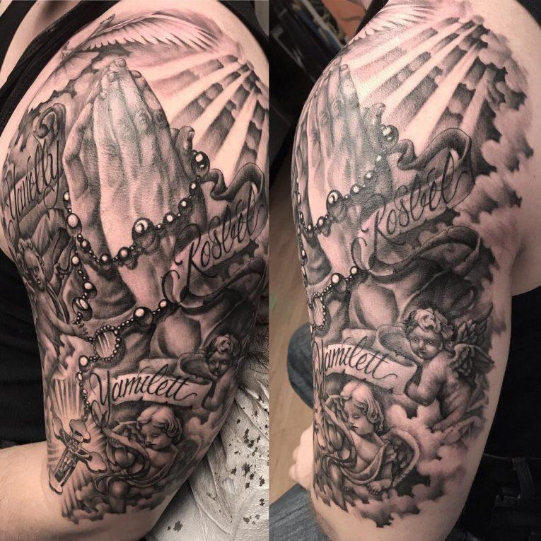 Praying Hands Tattoo 63