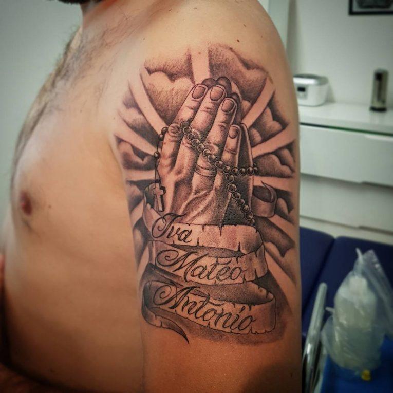 Praying Hands Tattoo 67