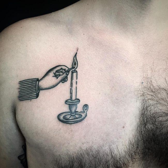 Prison Style Tattoo 53