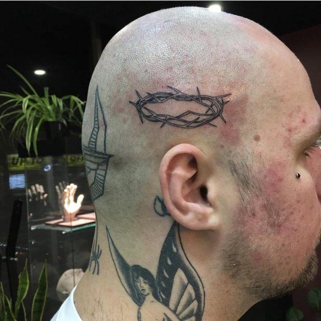 Prison Style Tattoo 55