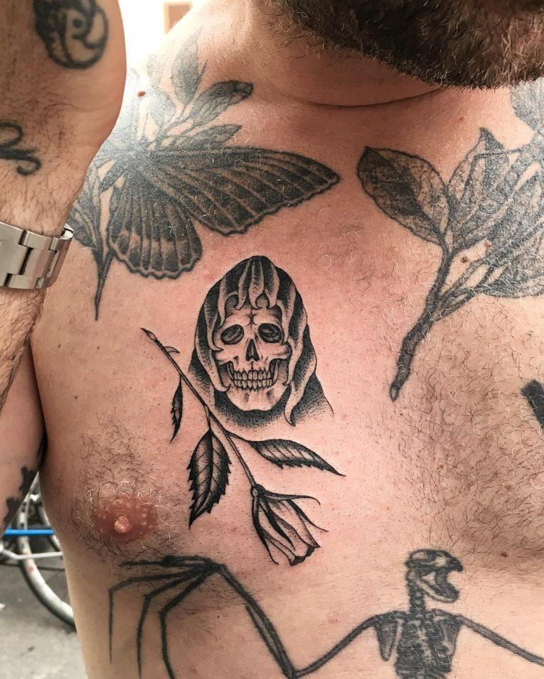 Prison Style Tattoo 64