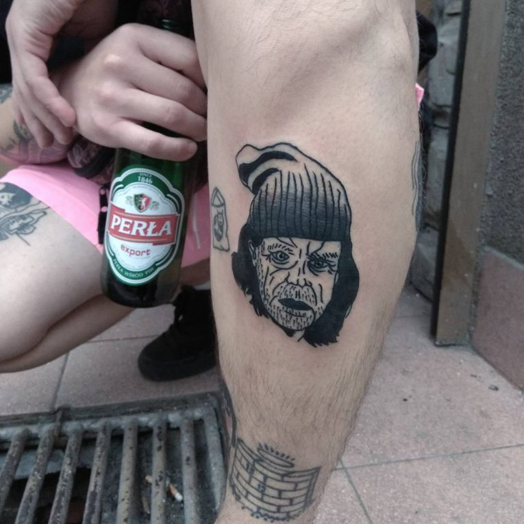 Prison Style Tattoo 65