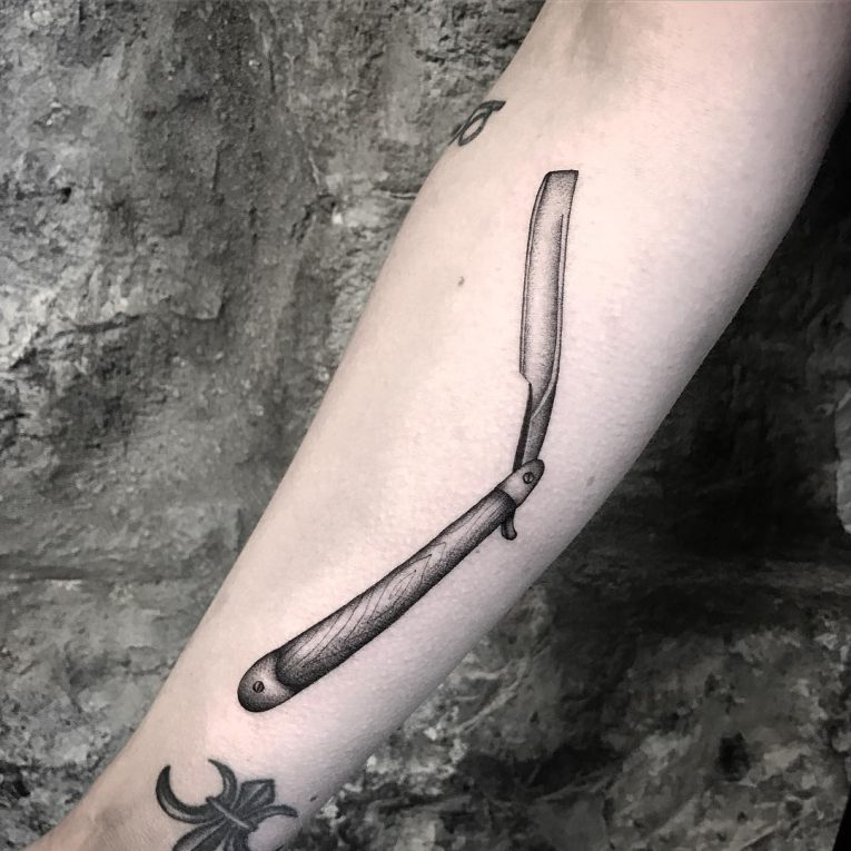 Prison Style Tattoo 71