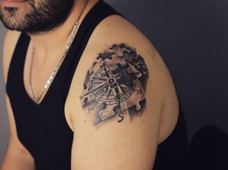 Puzzle Pieces Tattoo 66