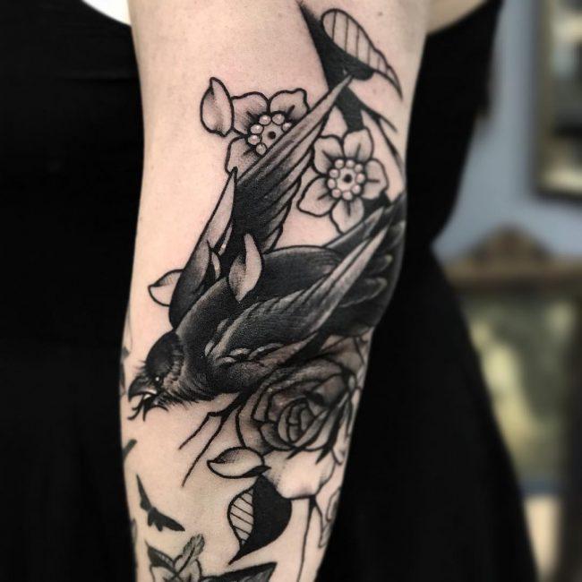 Raven Tattoo 56