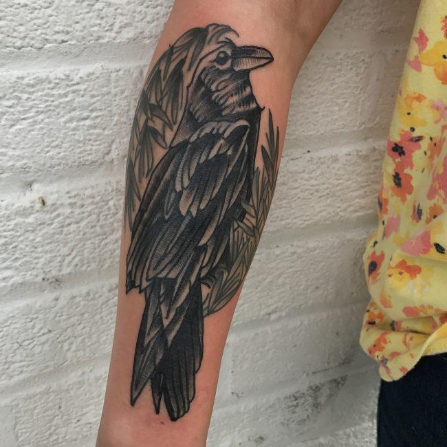 Raven Tattoo 57