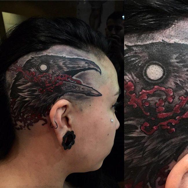 Raven Tattoo 58