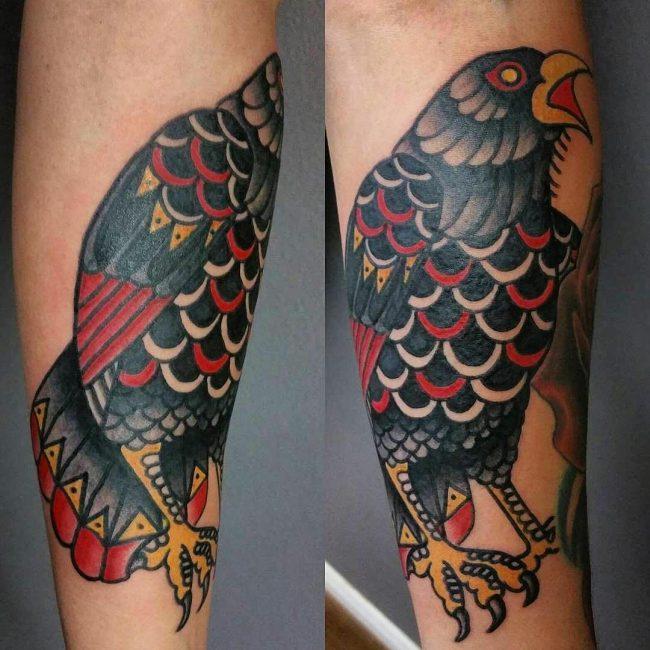 Raven Tattoo 60