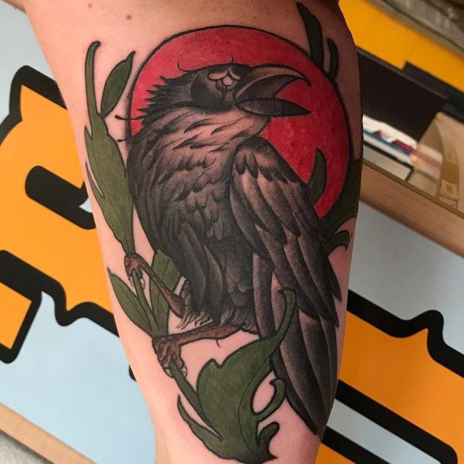 Raven Tattoo 61