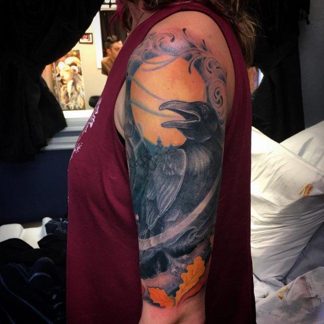 Raven Tattoo 62
