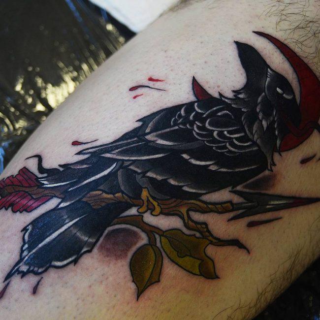 Raven Tattoo 63
