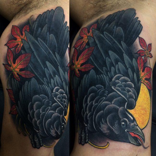 Raven Tattoo 64