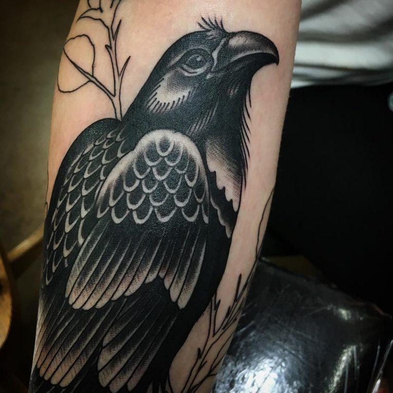Raven Tattoo 67