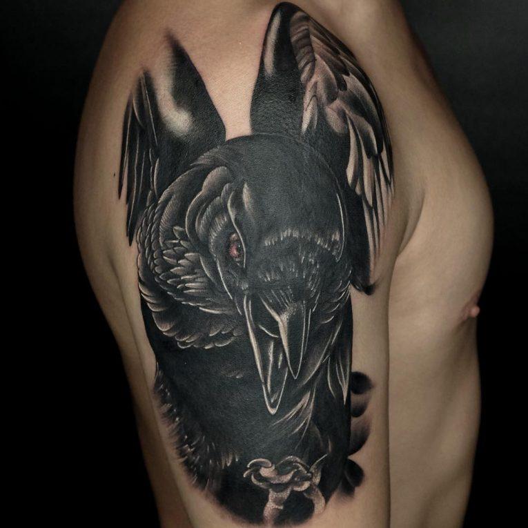 Raven Tattoo 69