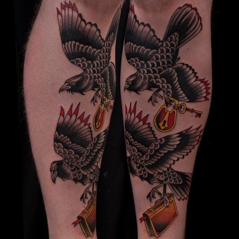 Raven Tattoo 73