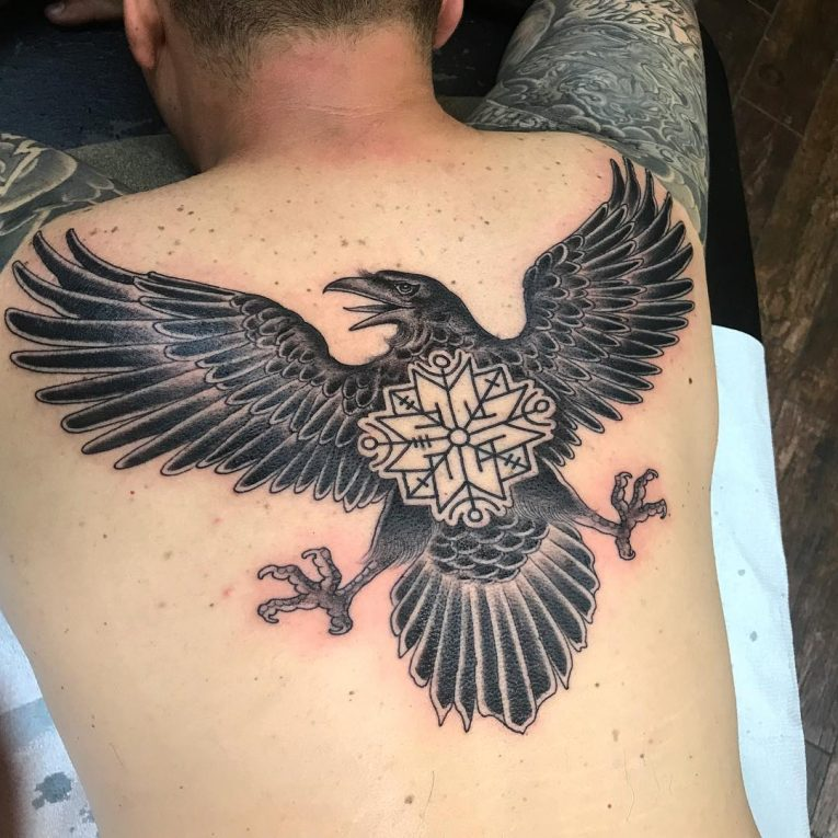 Raven Tattoo 74