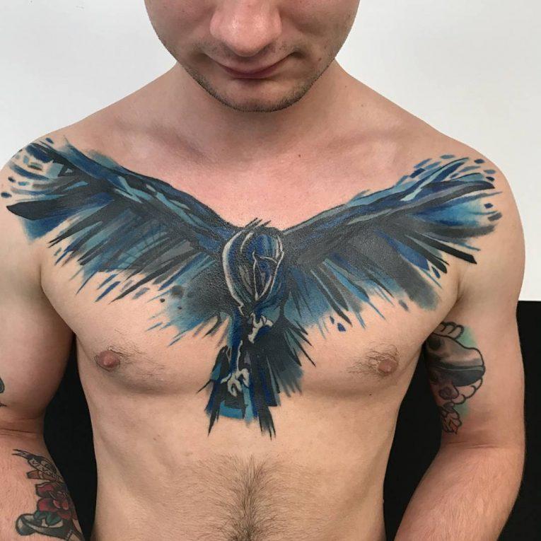 Raven Tattoo 75