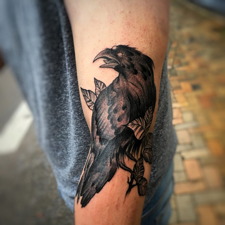Raven Tattoo 77