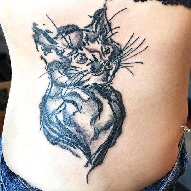 Rib Tattoo 56