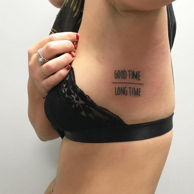 Rib Tattoo 58