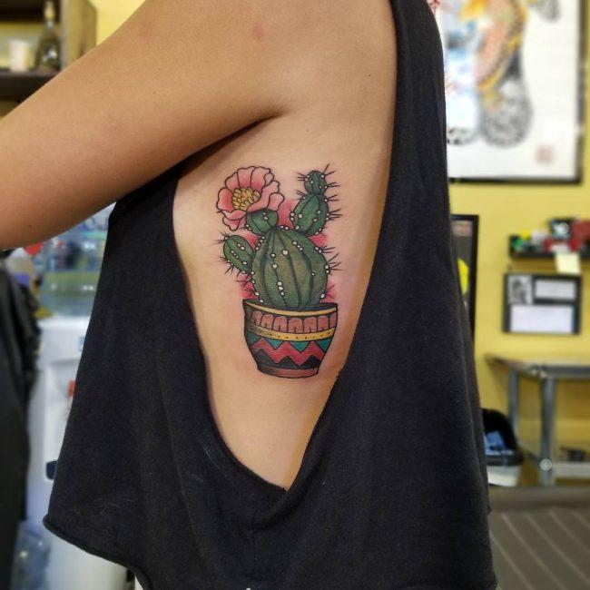 Rib Tattoo 61