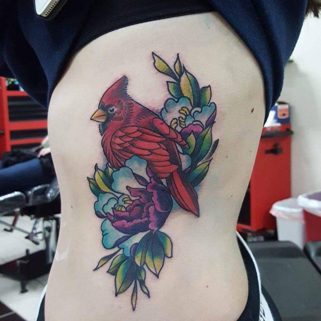 Rib Tattoo 65