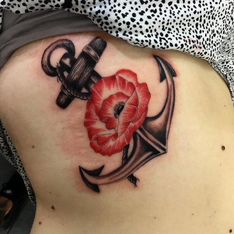 Rib Tattoo 68