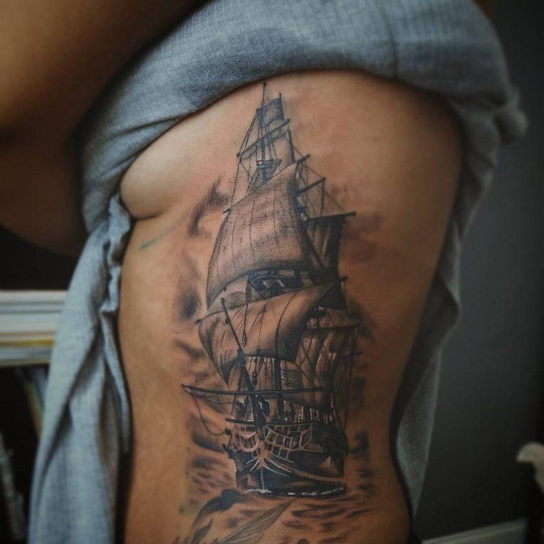 Rib Tattoo 70