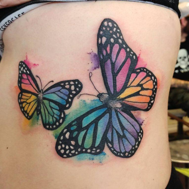Rib Tattoo 71