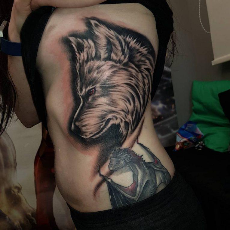 Rib Tattoo 72