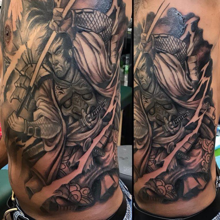 Rib Tattoo 74