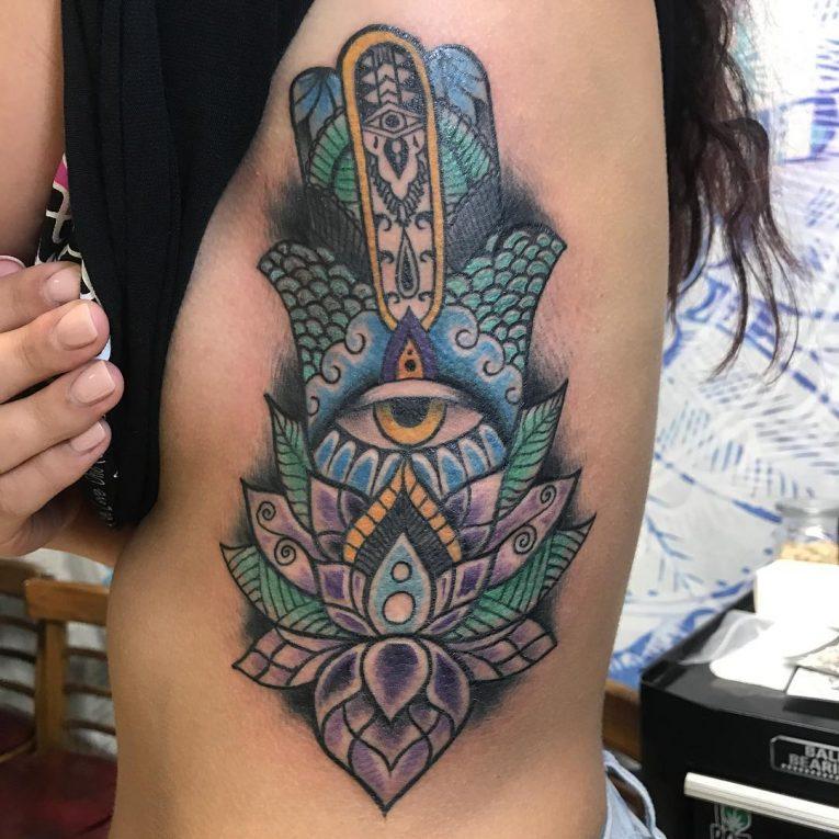 Rib Tattoo 76