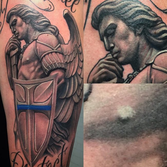 Saint Michael Tattoo 78