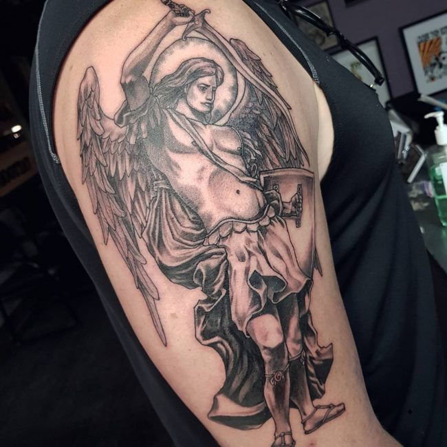 Saint Michael Tattoo 81