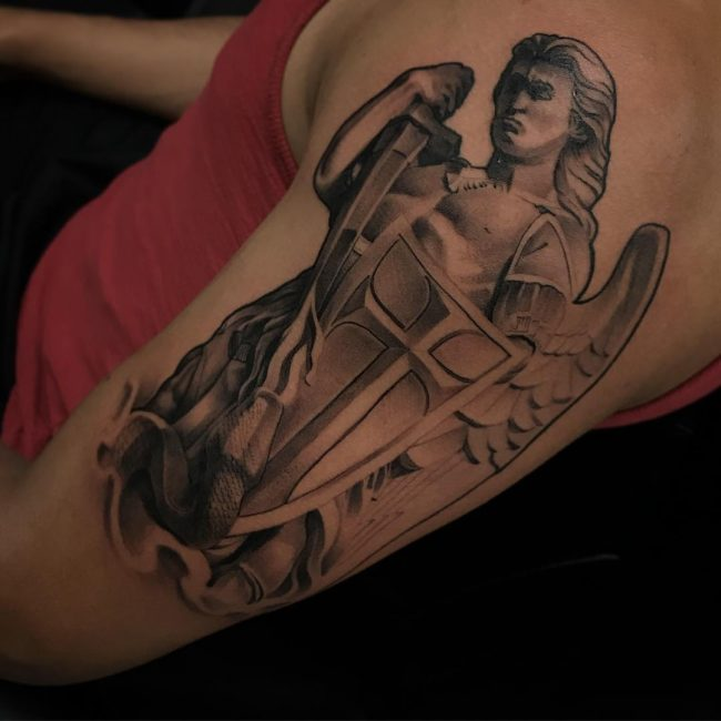 Saint Michael Tattoo 84